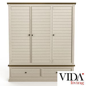 Vida-Living-Croft-Wardrobe-3-Door