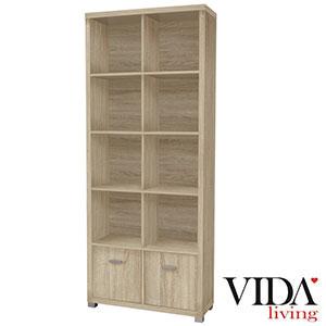 Vida-Living-Oscar-Tall-Bookshelf