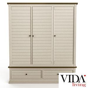 Vida-Living-Croft-Wardrobe-3-Door